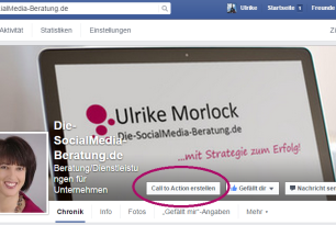 Facebook – Was macht man mit dem Call-to-Action Button?
