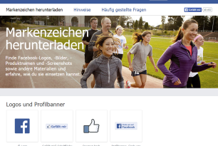 Screenshot Webseite www.facebookbrand.com